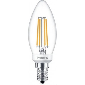 Lámpara CLA LEDCandle ND 6.5-60W B35 E14 840 FR PHILIPS 64924100