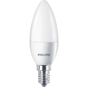 Lámpara CorePro candle ND 5.5-40W E14 865 B35 FR PHILIPS 74681300