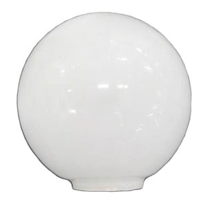 12cm opal ball glass tulip 5cm mouth LB 529550