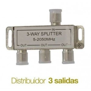 Distributors of TV - Distribuidor de television Splitter 3 salidas