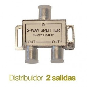 Distributors of TV - Distribuidor de television Splitter 2 salidas