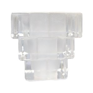 Staggered glass lampshade 7x7cm 3cm mouth LTDE 400-2