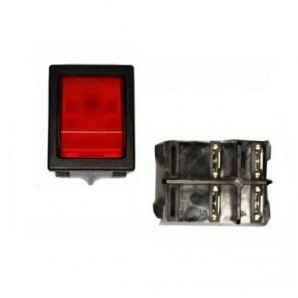 Switches step and walk - Interruptor luminoso empotrado 30x25mm