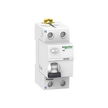 Differential switch 2P 40A 30 mA AC RESIDENTIAL Schneider A9R60240