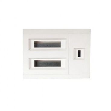 Recessed electrical panel ICP + 24 elements HAGER VX24C