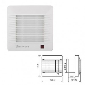 Comprar Bathroom Extractor fan EDM-200 S Soler & Palau online