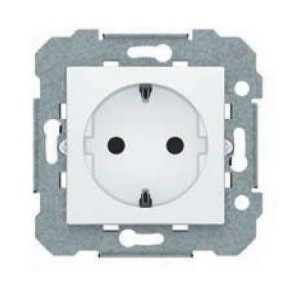 Socket 2P + TT BJC blanc direct 23524