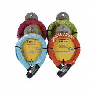 Bike - Armoured padlock 15x900 assorted colours