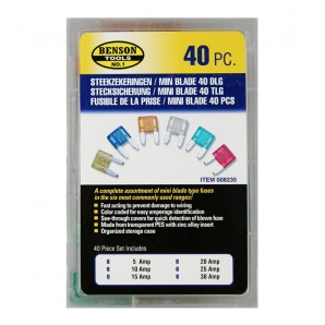 Game 40 mini fusible for car