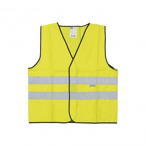 Reflective waistcoat 2 bands recognised