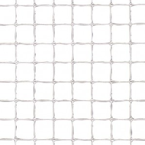 Electro-welded Galvanised Mesh 13x13 /150 cm. 25-Metre Roll Domestic Use