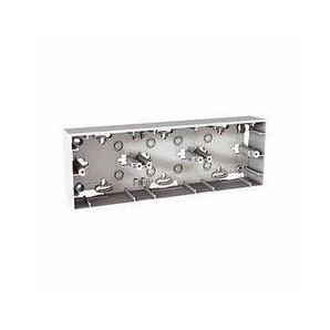 Boxes surface - Zócalo de superficie para 2 elementos Schneider Unica