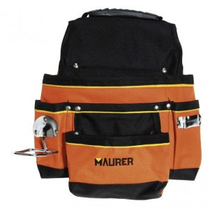 Maurer Double Nylon Tradesman's Bag With Strap