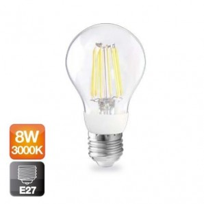 LED light bulbs Vintage and Deco - Bombilla de led de filamento 86W serie ORO 800lm
