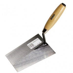 Maurer wooden handle trowel: 341-a/180 mm.