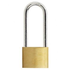 Wolfpack Brass Padlock Long Shackle Keyed Alike 30 mm. Nº2