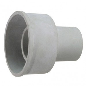 Toilet Drain Rubber Connector Exterior 30 mm.