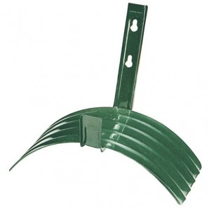 Saturnia Large Metal Wall-Mounted Hose Reel Support