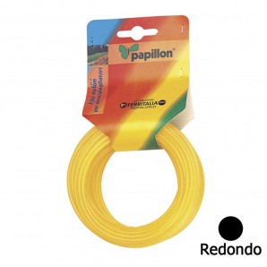 Round Nylon Wire 2.4 mm. (15 Metre Roll)