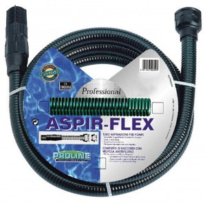 Aspir Flex Suction Pipe 4 Metre Roll With Connectors