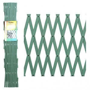 PVC verde Lattice 2x1 metri.
