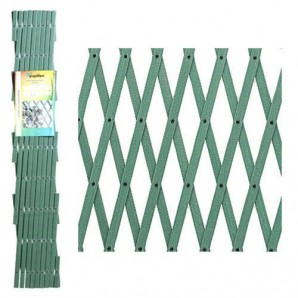 PVC verde Lattice 3x1 metri.