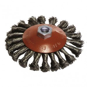 Maurer M14 Inclined Braided Brush 100x10 mm.