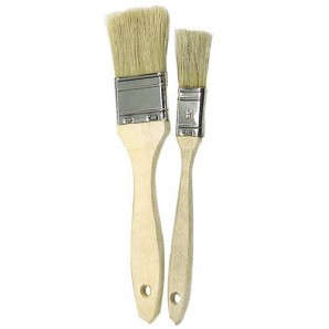 Brico Double White Bristled Brush No. 24