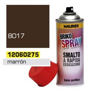 Spray Pintura Marron Chocolate 400 ml.