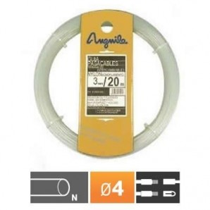 Guía pasacables nylon 4mm anguila