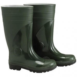 Boots rubber high green Security - 3196