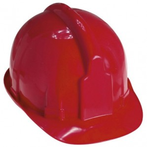 Casque de chantier Maurer rouge
