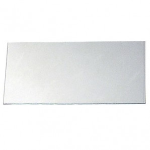 Clear Glass 55x110 mm. (Filter cover)
