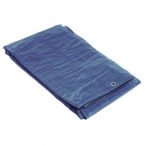 Blue Canvas With Metal Eyelets 3 x 4 Metres(Approximately)