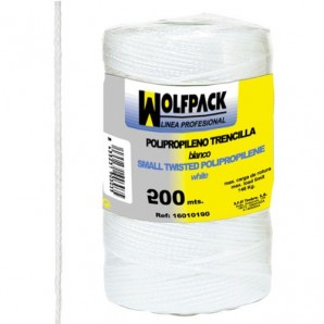 White Polypropylene Twisted String (Roll of 200 metres)