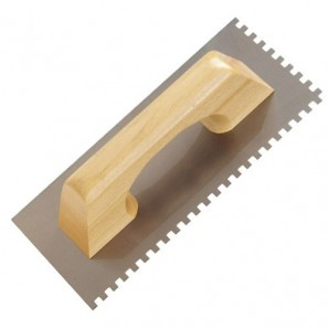 Comb Wolfpack Wooden Handle 280x120 / 8x 8mm