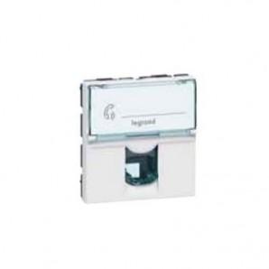 Mechanism Legrand Mosaic - Toma RJ11 módulo ancho Legrand Mosaic 78732