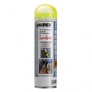 Spray Maurer traçage jaune fluorescent 500 ml