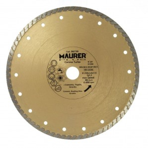 Disque diamant continu Turbo 230 mm.