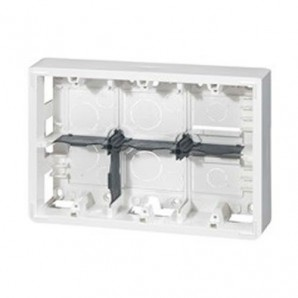Mechanism Legrand - Caja de superficie para 2x6 módulos Legrand 80276