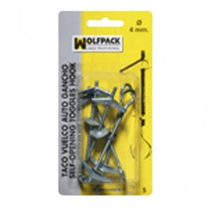 Primavera Toggle Hook Blister M 4 (5 pezzi)