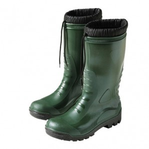Boots rubber high green winter - 4156