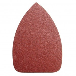 Delta Replacement Sandpaper LO105 140x100 mm. No Holes 80 Grit (10 Pieces)