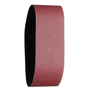 Replacement Sandpaper Belt 75x457 mm. 100 Grit (3 Pieces)