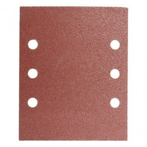 Replacement Sandpaper LO210 114x140 mm. With Holes 40 Grit (10 Pieces)