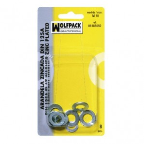 Blister Pack Washers Din125A M12 (4 Pieces)