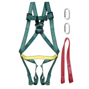 Fall Arrest Harness Safety Kit No. 1 (4 pieces) EN361