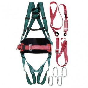 Fall Arrest Harness Safety Kit No. 2 (7 pieces) EN361