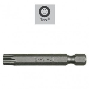 Maurer Long Screwdriver Bits Torx T- 8 (2 Pieces)
