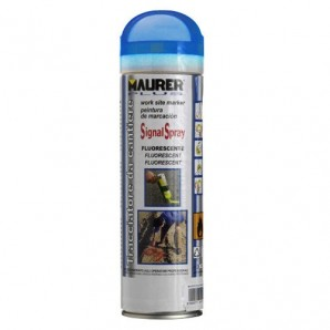 Spray Maurer traçage bleu fluorescent 500 ml